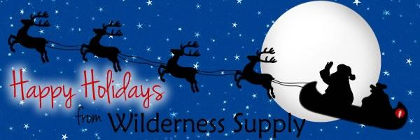 Happy Holidays from Wilderness Supply!