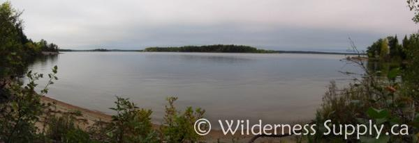 the shore of Big Whiteshell