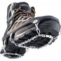 Ice grips, cleats.  Snow traction for boots, shoes.  Walking, Running, Hiking.