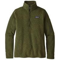 Men's and Women's popular warm & cozy Better Sweater from Patagonia, in 1/4 zip and full zip.
