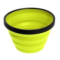 Collapsible mug that nests into X Bowl and X Plate