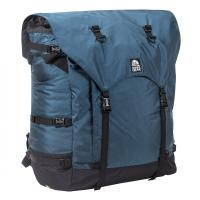 An expedition 121 Liter portage pack for rugged trails