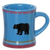 Warm your insides with a cup of your favorite tea or coffee blends in this beautifully crafted Blue Bear Blanket Mug.