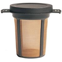 Convenient and enviro-friendly this reusable coffee/tea filter brews a cup without wasteful, messy paper filters and can be stored in almost any mug or cup.