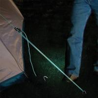 Eliminate the frustration of tying and untying knots, fiddling with ineffective plastic sliders, or relocating tent stakes. Reflective design for night time.