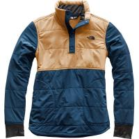 Stay warmer at the campsite with this lightweight quarter snap that features a stretch-woven shell.