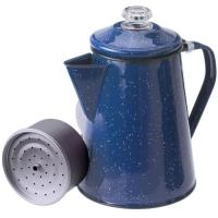 This retro Enamelware pot is a bubbly companion for campsite, cabin, RV, or your farmhouse kitchen.