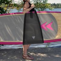 Get your board easily to and from the shore and save your muscle power for the water!