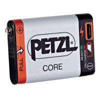 Rechargeable battery compatible with Petzl HYBRID headlamps, offering an economical and sustainable solution as the main power supply, or as a back-up.