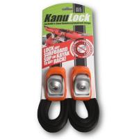 Have you been looking for a strap that locks your boat to your roof rack? The lockable tie-down strap by Kanulock is for you.