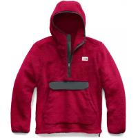 Warm and ultra-soft Sherpa fleece pullover hoodie for getting a little more comfortable at the mountain cabin.