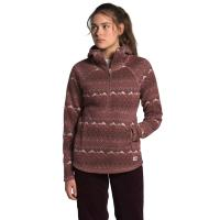 The updated Women's Printed Crescent Hooded Pullover features a relaxed fit and comes in bold patterns.