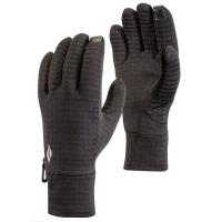 Technical stretch-fleece liners designed to be worn under a shell, the LightWeight GridTech gloves are highly compressible with a grid fleece interior.