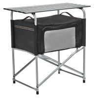 "The convenient 32"" height of this Eureka Cook Table makes meal prep easy for those that want camping comfort!"