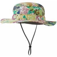 A broad brimmed sun hat that provides UPF 50+ protection