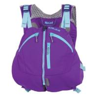 Styled for female recreational paddlers, this high-back life vest features articulated, body mapping panels.