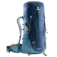 The functional Aircontact Lite trekking backpack scores with its ingenious design & the perfect balance between carrying comfort, weight & ventilation.