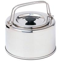 Durable and compact. Perfect for brewing up water for tea . . . and oatmeal, coffee, freeze-dried meals and more.
