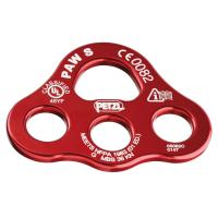 The PAW rigging plate is for organizing the work station and creating multi-anchor systems.